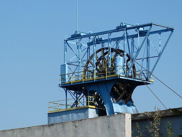 wieża szybowa w Katowicach