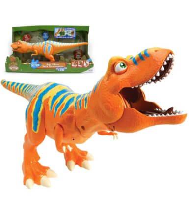 tomy dinopociag ryczacy tyranozaur borys