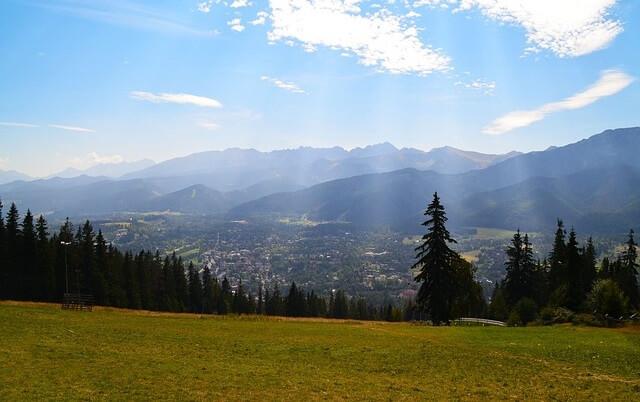 Zakopane - widok na góry
