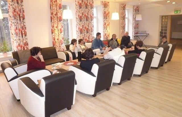 Pokój wspólny Domu Seniora