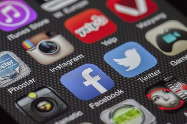 Ikony serwisów społecznościowych