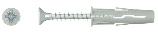 kołek rozporowy Rawlplug z wkrętem