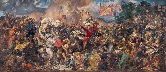"""Bitwa pod Grunwaldem"" Jana Matejki"