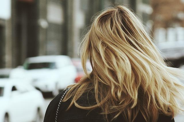 blondynka na mieście