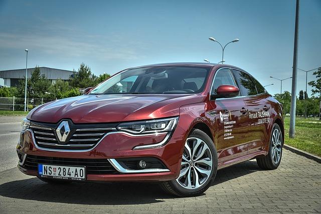Samochód marki Renault